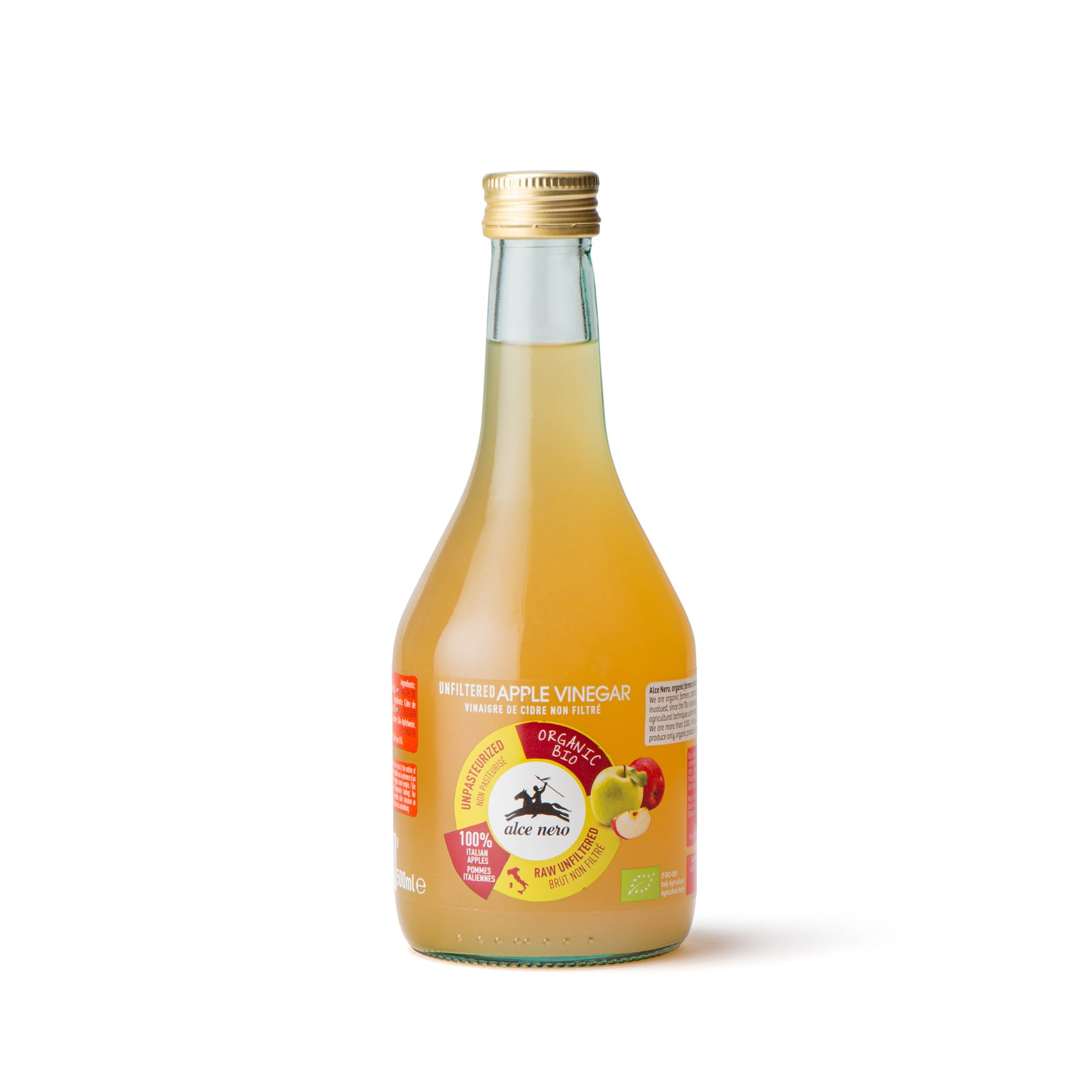 Organic unfiltered apple vinegar - AC846IN
