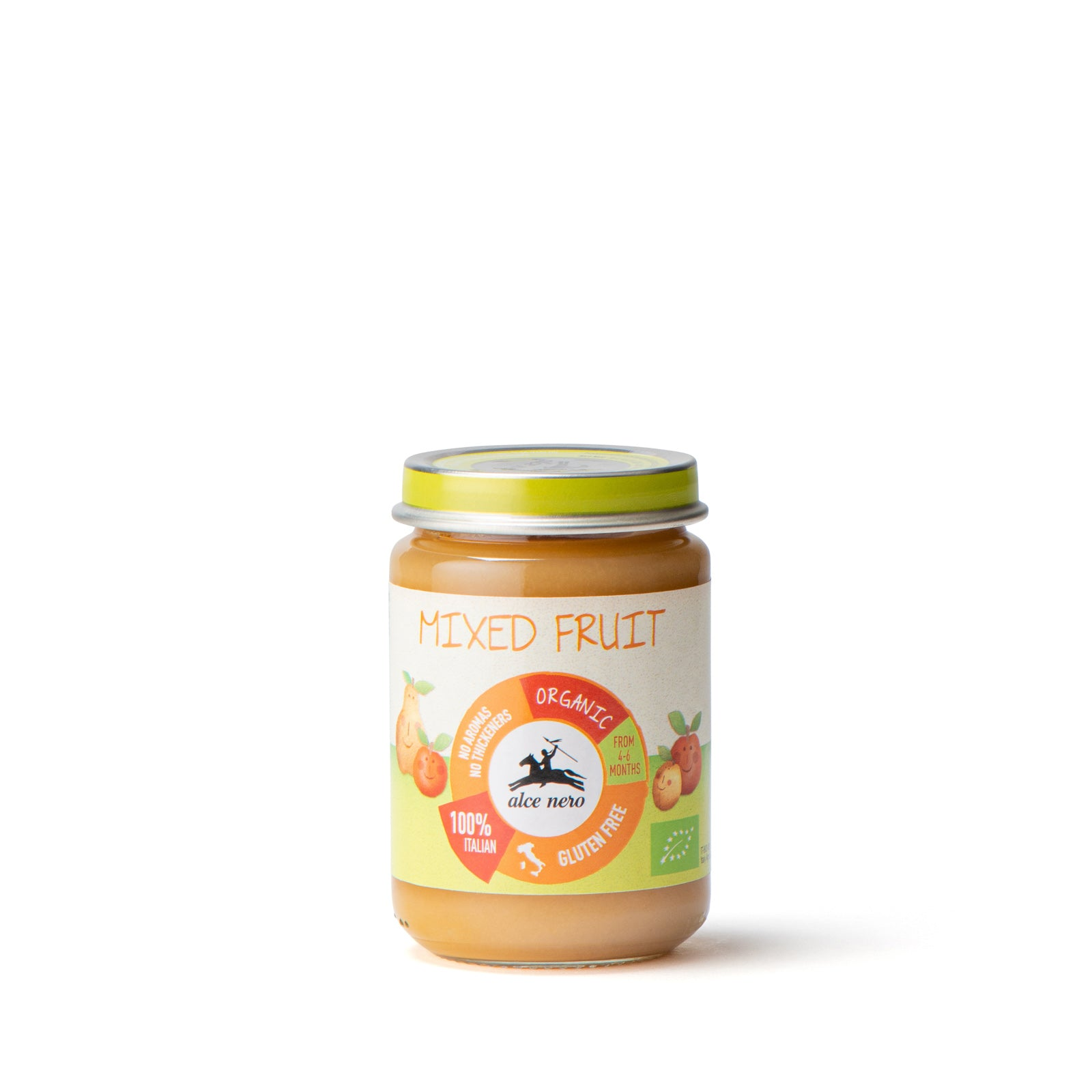 Organic mixed fruits puree  - BFFM140IN