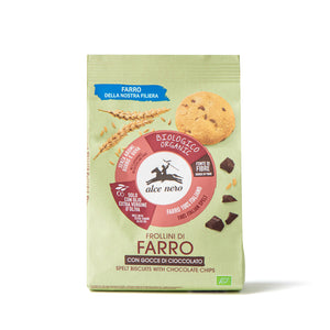 Organic spelt biscuits with chocolate drops - FR248
