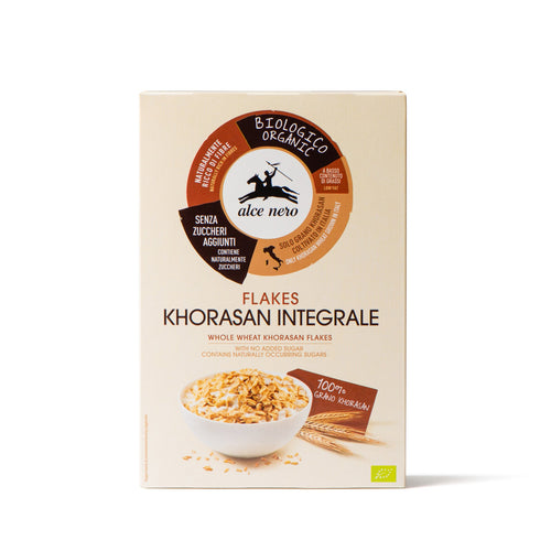 Organic khorasan wholemeal wheat flakes - PCFK200
