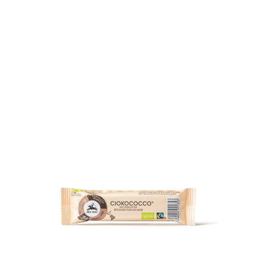 Ciokococco - milk chocolate bar with organic coconut and mango - CIOCO033