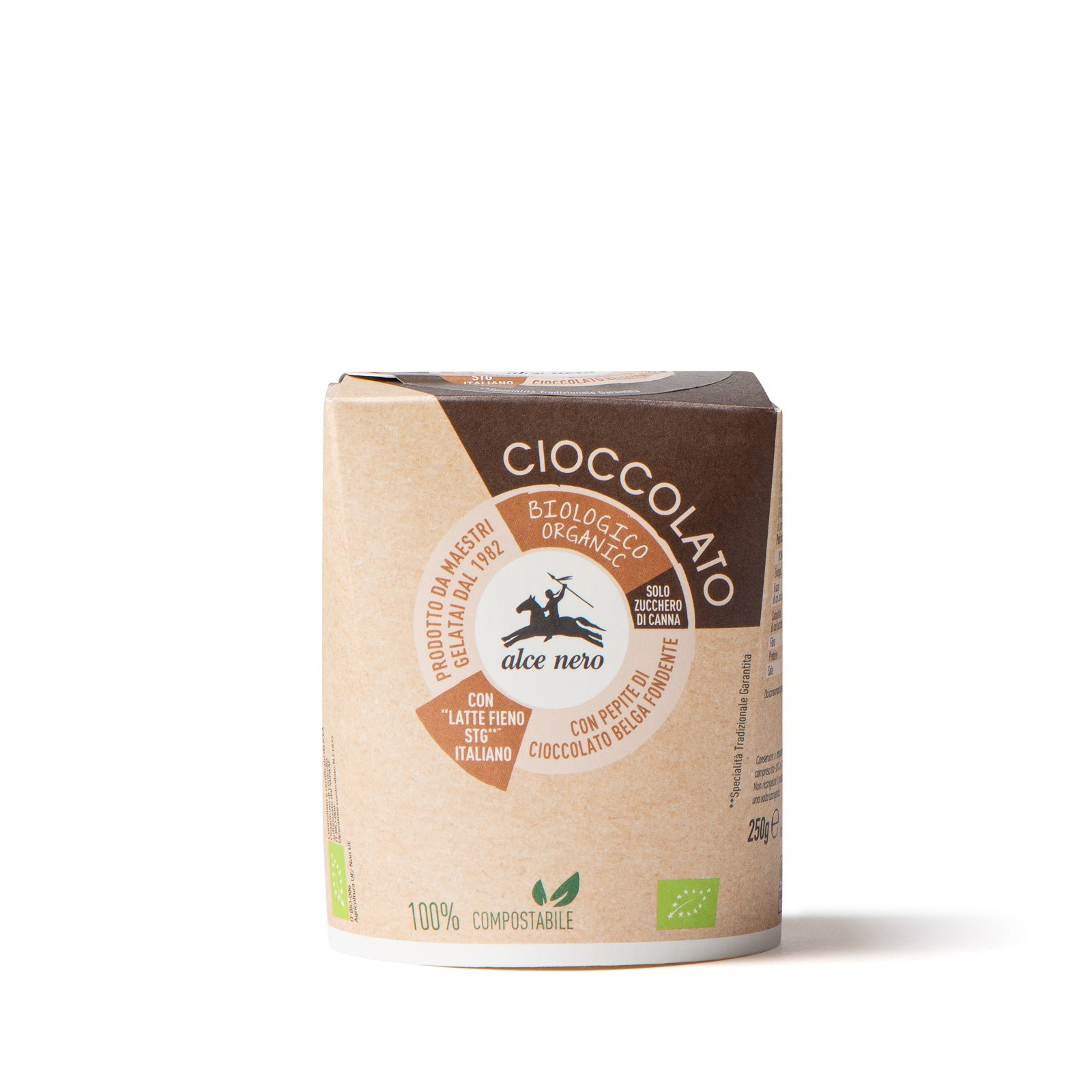 Organic chocolate ice cream - GECL250