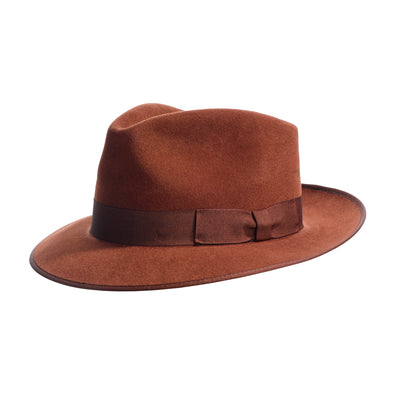 Alfred trilby hat tan