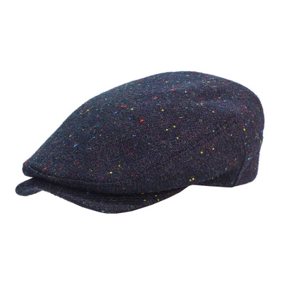 Harris tweed Sicilian black speckled