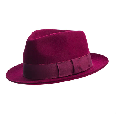 city trilby hat