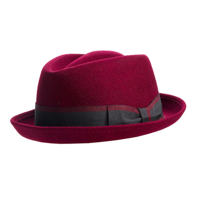 v crown pork pie hat