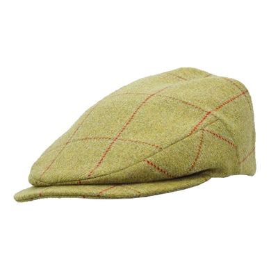 tweed shooting cap