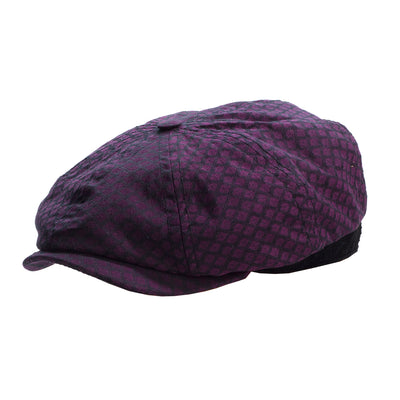 cotton diamond Brooklyn newsboy cap