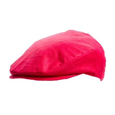 wax red flat cap