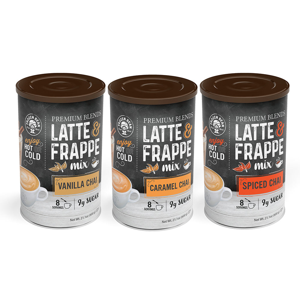 Chai Frappe & Latte 3 Pack Bundle