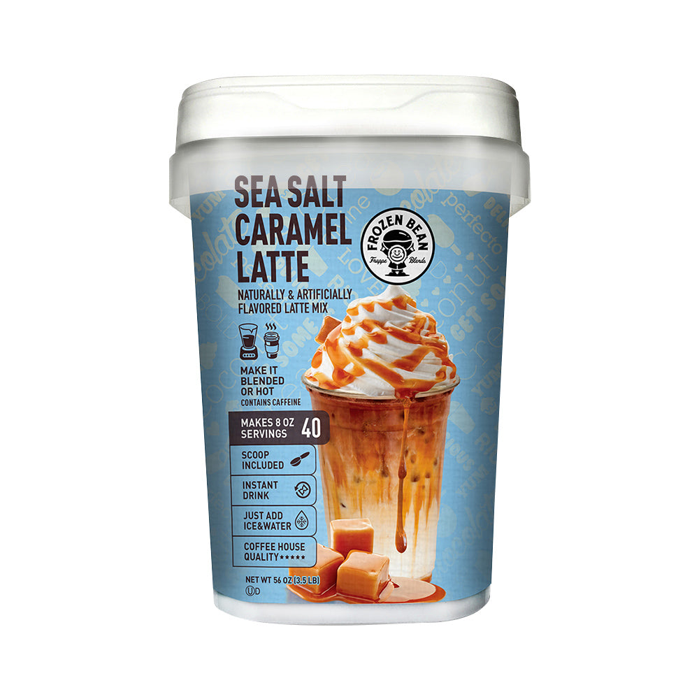 Sea Salt Caramel Latte Frappe Mix