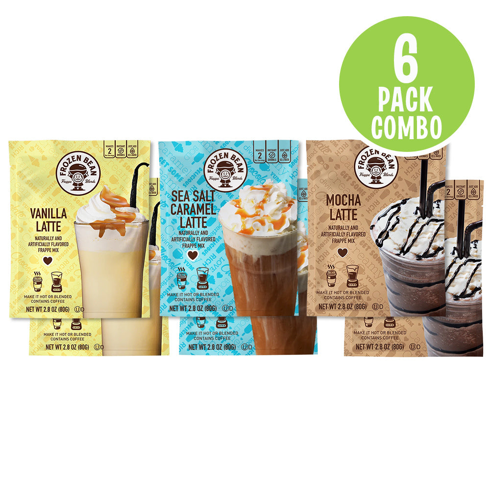 Coffee Lovers Frappe Mix Combo Pack