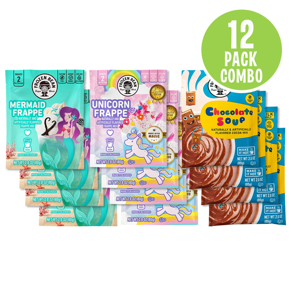 Carnival Flavors Frappe Mix Combo Pack