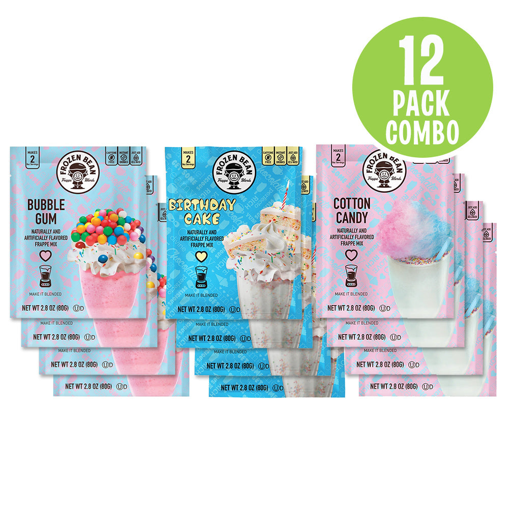 Fun Flavors Frappe Mix Combo Pack
