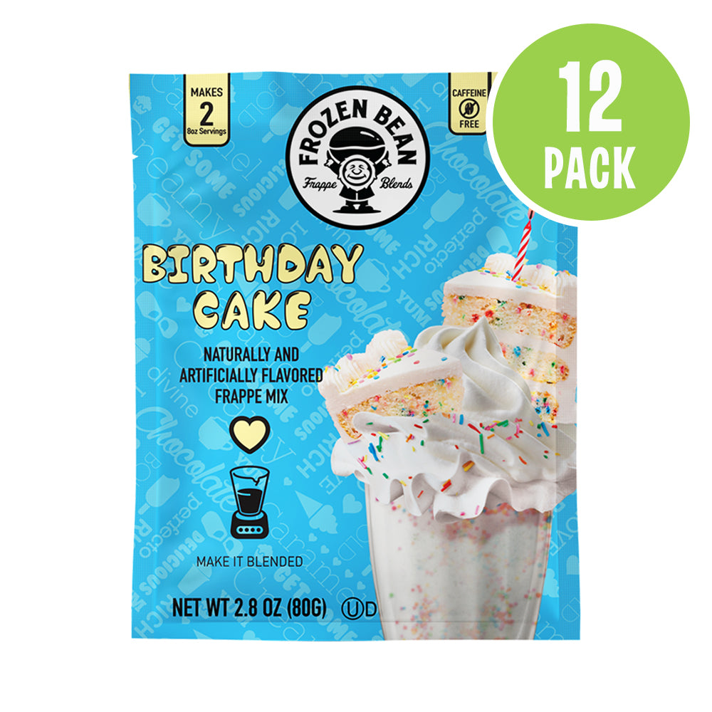 Birthday Cake Frappe Mix