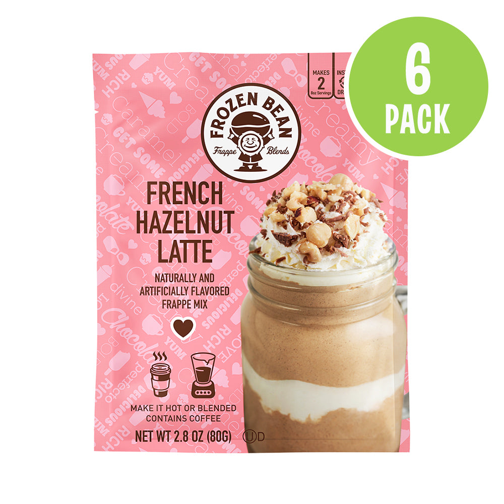 French Hazelnut Latte Frappe Mix