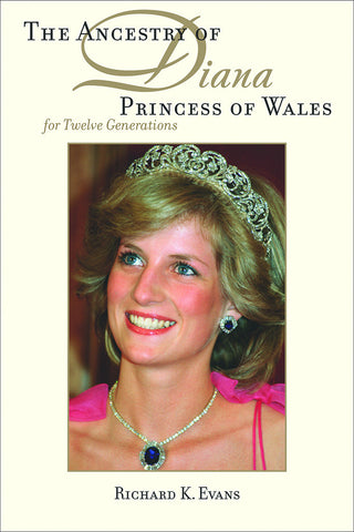 Ancestry of Diana Princess of Wales