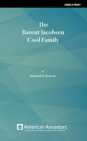 The Barent Jacobsen Cool Family