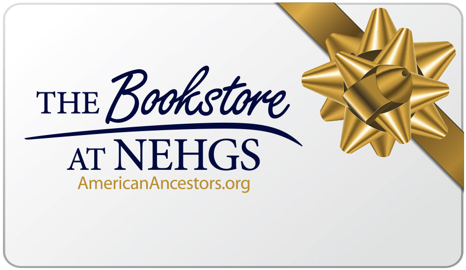 Bookstore gift card with golden bow