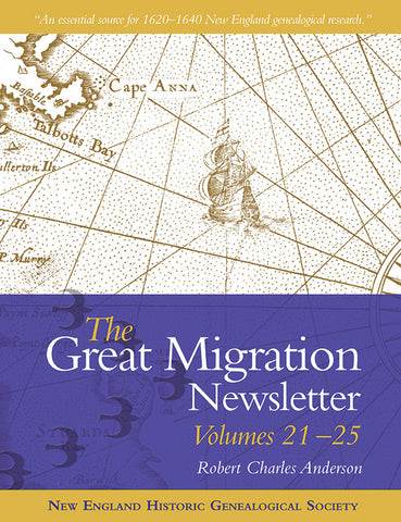 The Great Migration Newsletter, Volumes 21-25