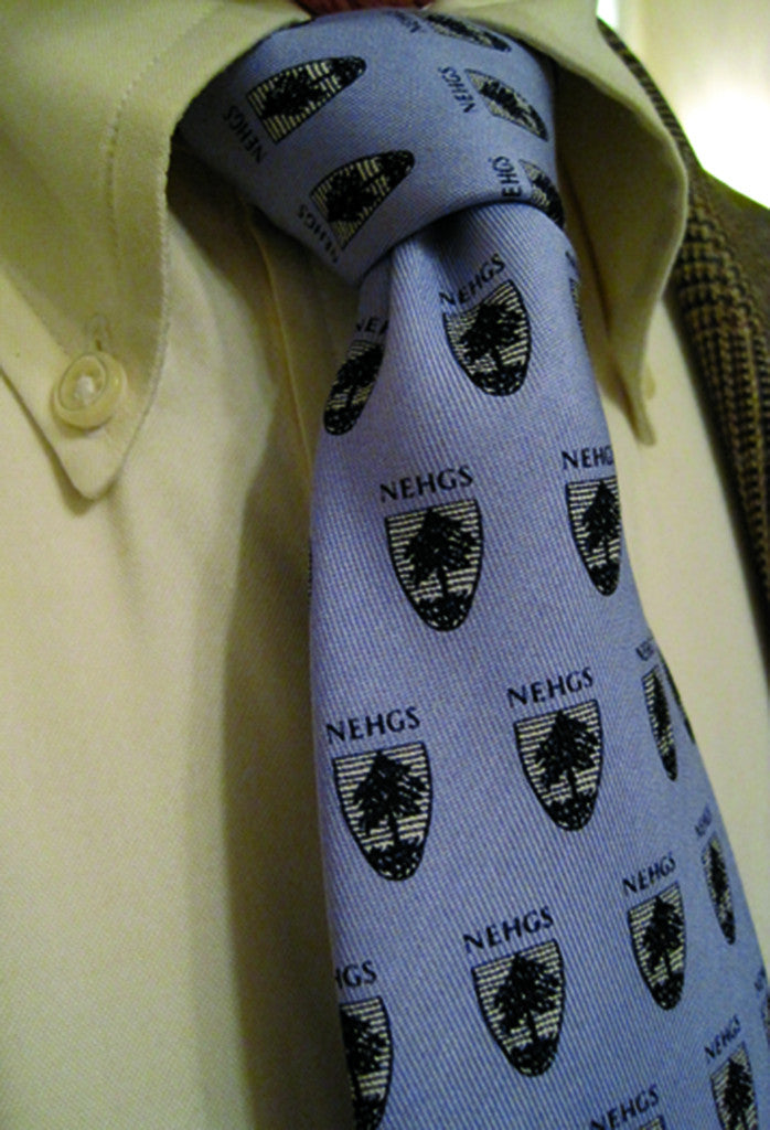 NEHGS Logo Tie (Blue) by Vineyard Vines