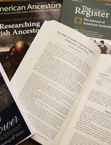 NEHGS Summer Institute for Advanced Researchers: Publishing a Genealogical Article