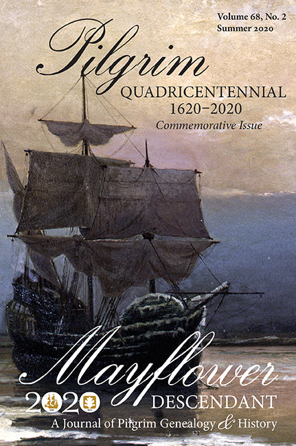 Mayflower Descendant, Volume 68, No. 2: Summer 2020