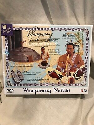 Wampanoag Nation Puzzle (500 pieces)