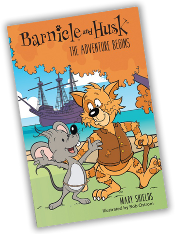 Barnicle and Husk: The Adventure Begins (for kids 8 and above)