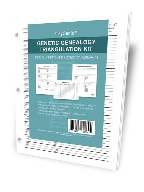 Genetic Genealogy Triangulation Kit for DNA Tests