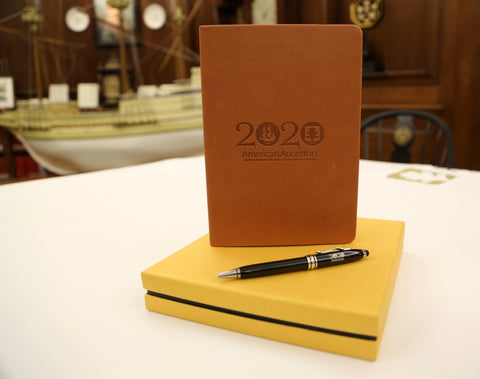 Beautiful 2020 Mayflower Anniversary Commemorative Journal and Pen Set
