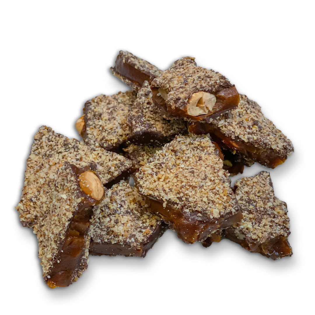 vegan chai toffee