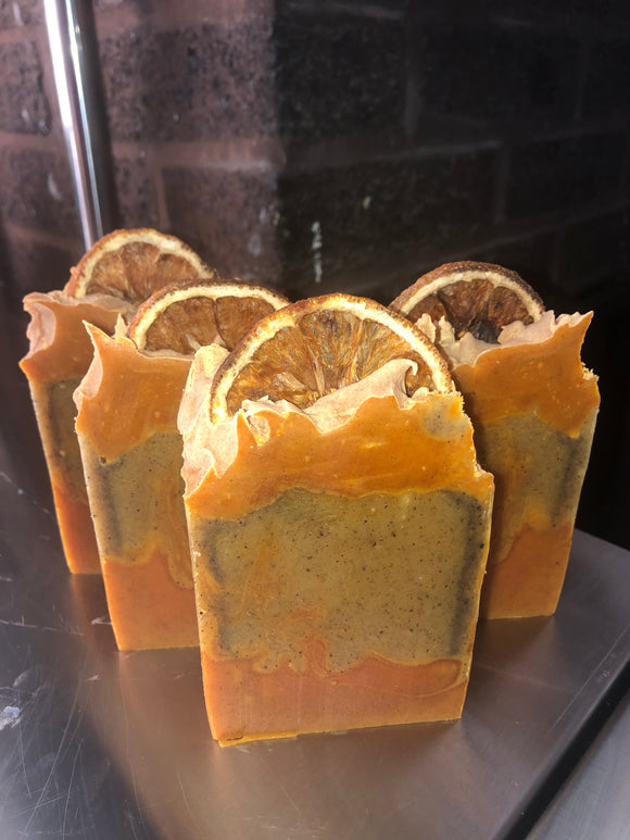 Outrageous Orange Artisan Soap