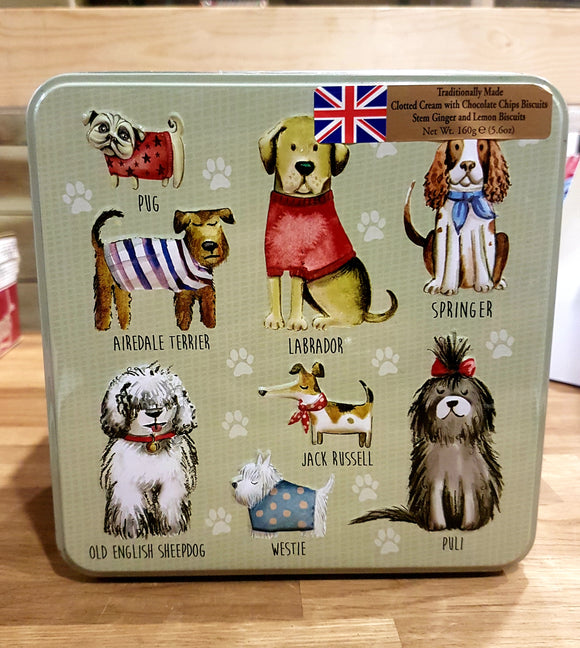 Grandma Wilds Dogs in Jumpers Biscuits
