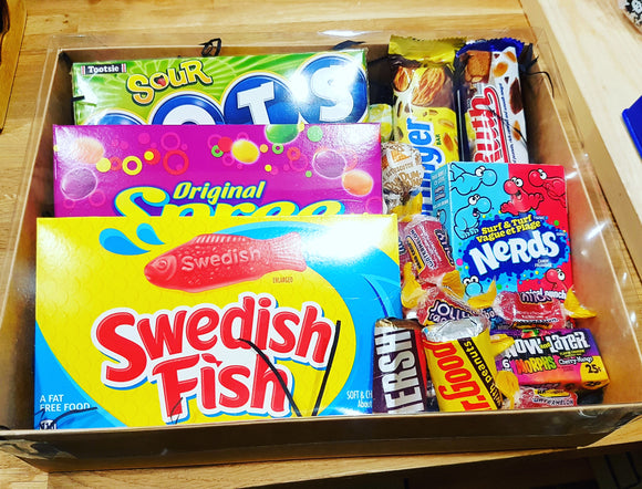 The Sweet Shop American Hamper