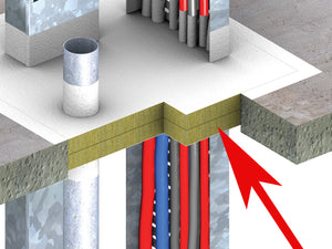 Promat PROMASEAL Fire Barrier for fire stopping in use
