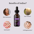 Thiodine Lugol's Iodine Supplement - 12.5 MG Lugol's 5% - Benefits of Iodine Miss Lizzy Thyroid Health