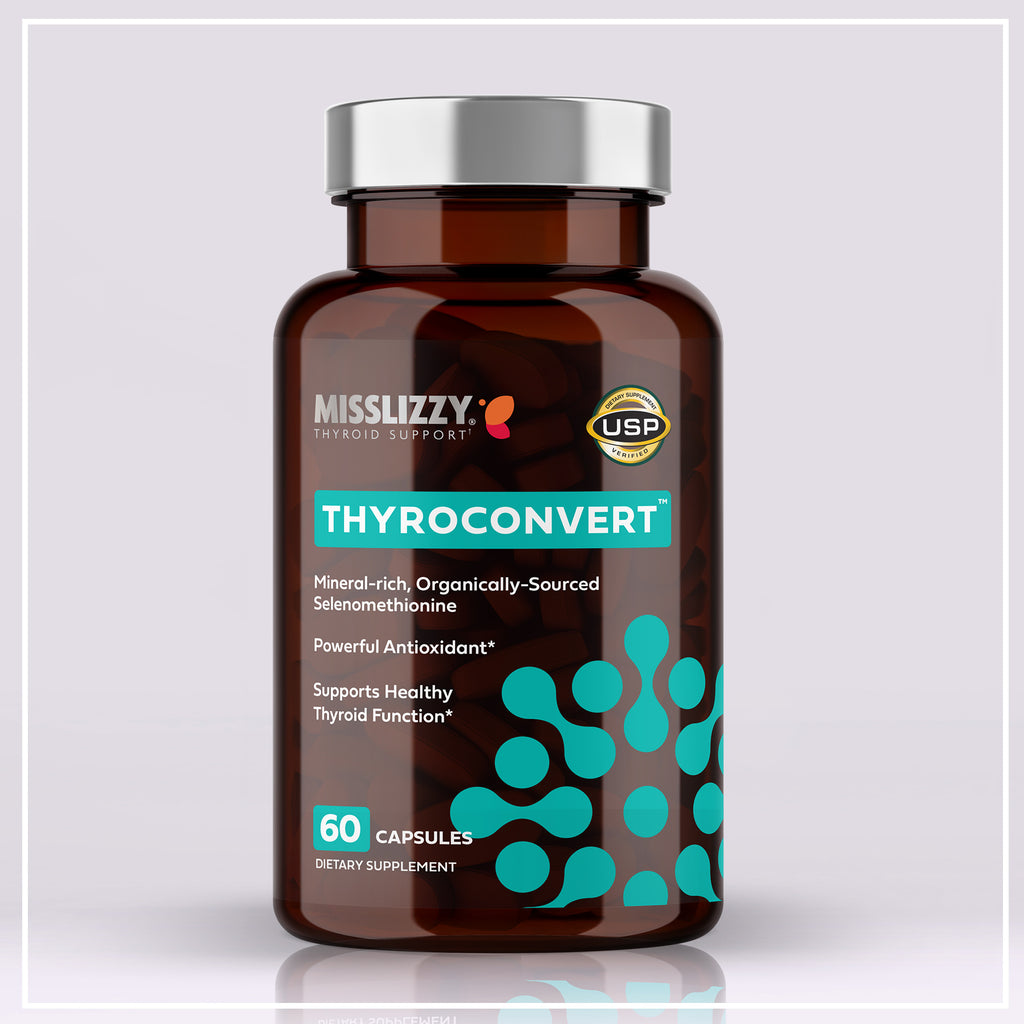 ThyroConvert Selenium Supplement - Antioxidant, Hashimoto's -Miss Lizzy Thyroid Health