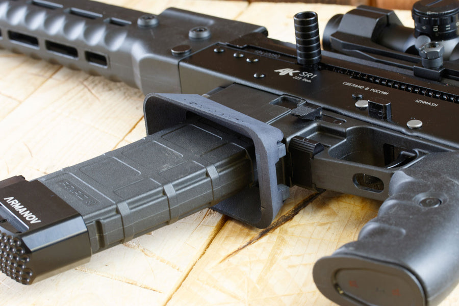 Magwell for Kalashnikov SR1 223 rifle