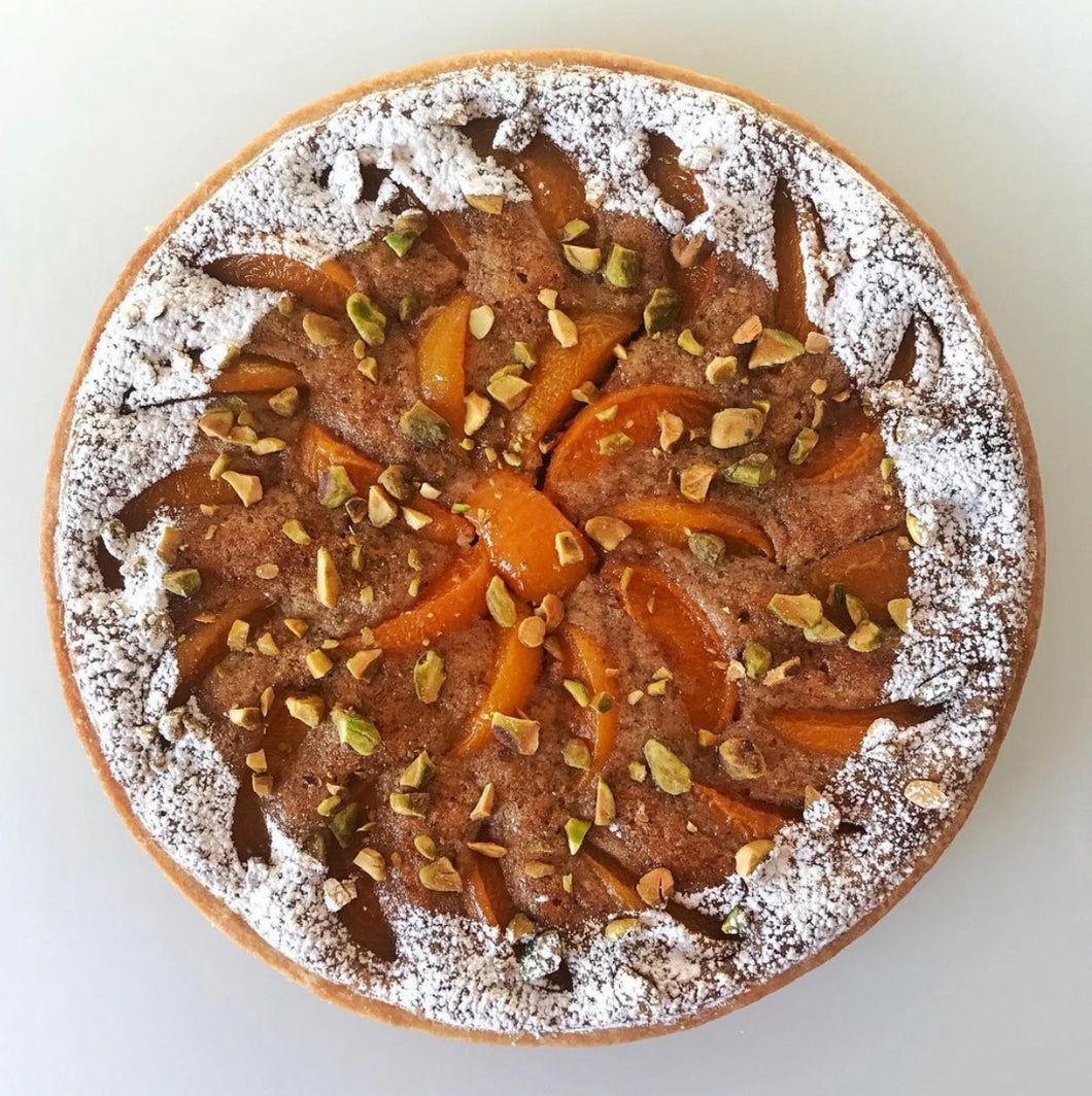 Apricot Pistachio Tart - Available for pick up Friday May 14th