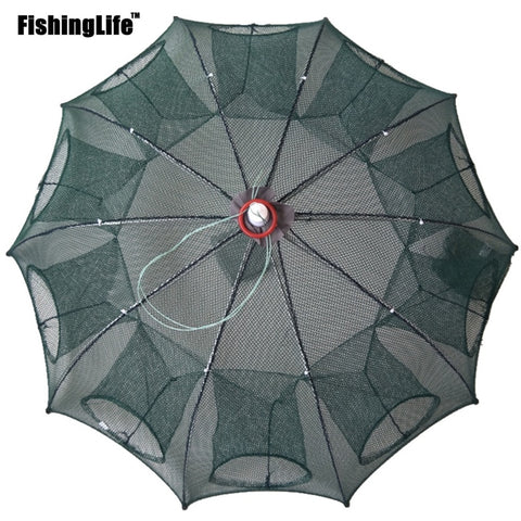 6/8/12/16 Holes Portable Fishing Net