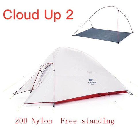 Naturehike Ultralight Camping Tent - Cloud Up Series