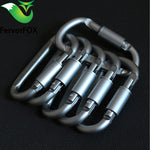 Aluminum alloy mountaineering hook