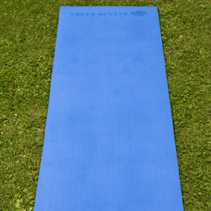 Terra Mare - Blue Eco Friendly Yoga Mat - Terra Active