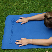 Load image into Gallery viewer, Terra Mare - Blue Eco Friendly Yoga Mat - Terra Active