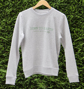 Down to Earth Eco Friendly Organic Cotton Sweater Gray - Terra Active