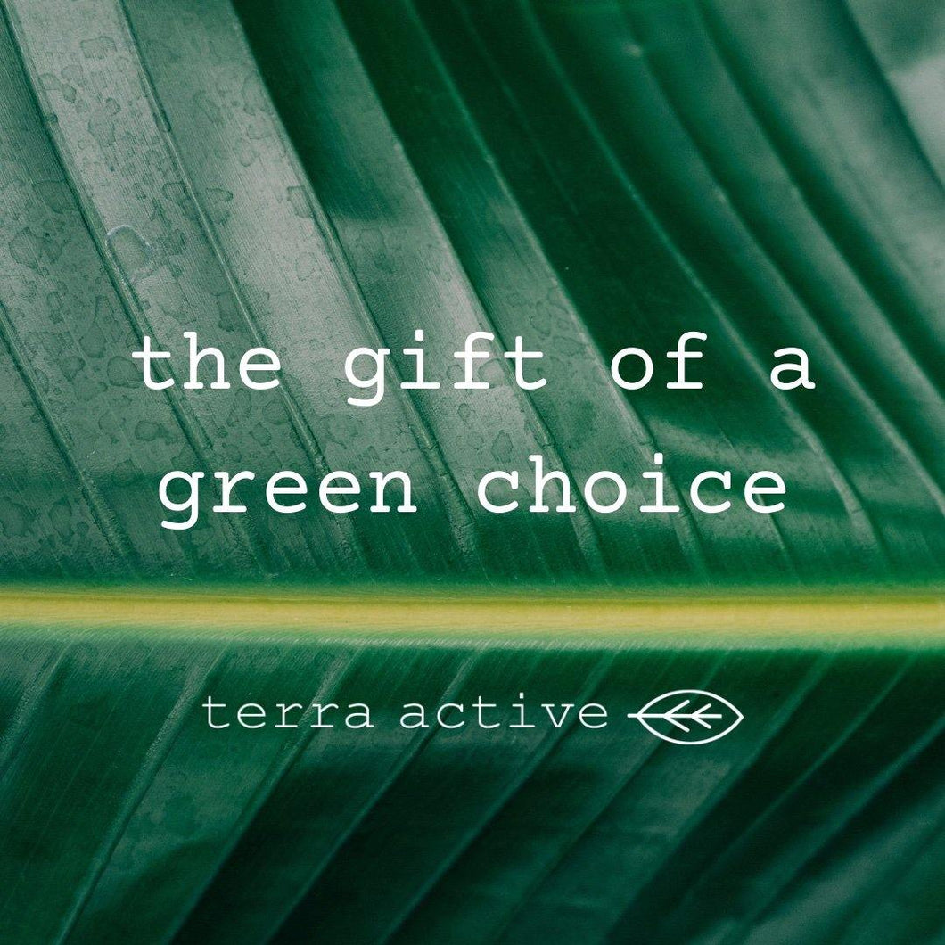 Terra Active Eco Friendly Gift Card