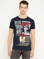 Punk VICTORY Navy Blue T-Shirt