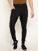 Punk Black Plain Jogger