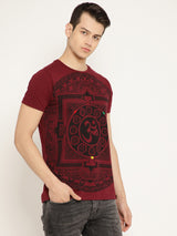 Punk OM-RED T-shirt